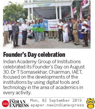 Founder's Day 2019