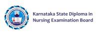 RECOG. by the Karnataka State Dipl. In Nursing EXAM. Board